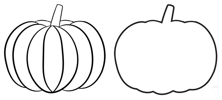 Printable/Traceable Pumpkin to decorate
