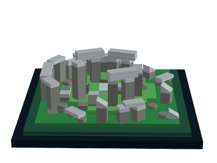 Using LEGO or DUPLO, make your own StonehengeTrilithons.