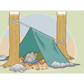 Build an outdoor shelter