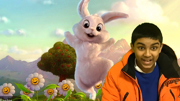 NM with the Easter Bunny