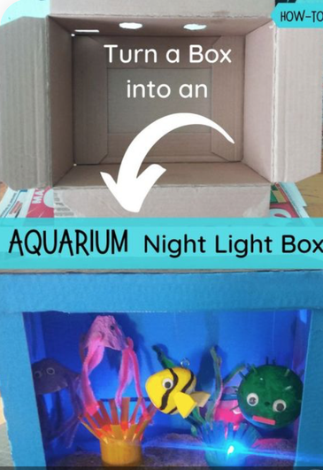 Add water, bubbles and fans for multi-sensory!