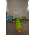 Addition throwing game