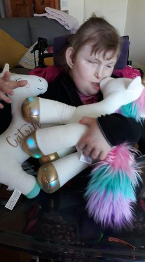 Catrin and her ..... Unicorns!!!!!