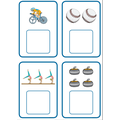 Sports counting 1-4