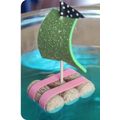 Try making boats and getting them to float!