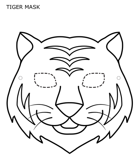 Available to print from https://www.firstpalette.com/printable/tiger-mask.html