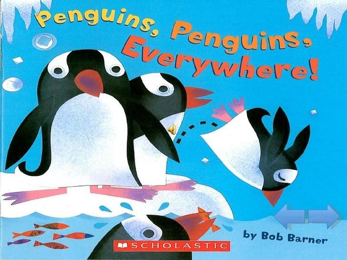 Penguins everywhere by Rob Barner