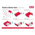 Build an indoor den