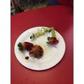 Ladybird, caterpillar and mouse