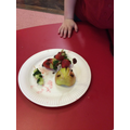 Ladybird, mouse and cucumber kebab