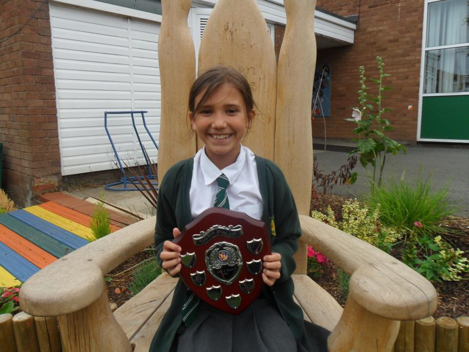 Year 3 Girls Award - Lucia C