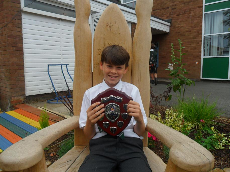 Year 3 Boys Award - Max D