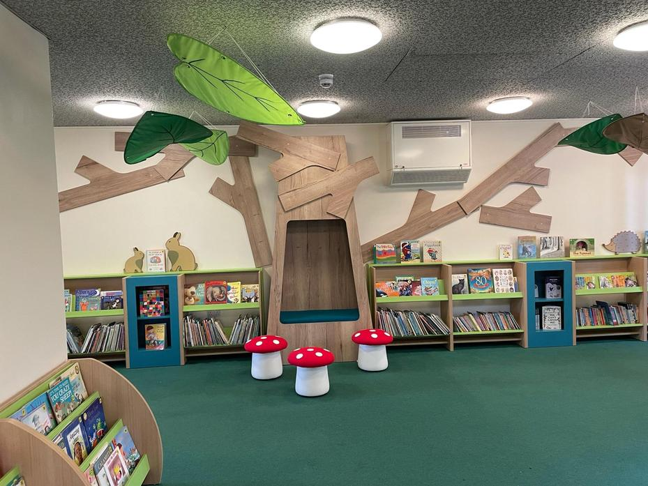 Our Tree House Story space