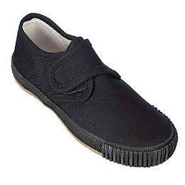 Black plimsolls