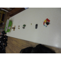 We sorted our findings by material and age.