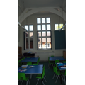 Chestnut classroom in the old building