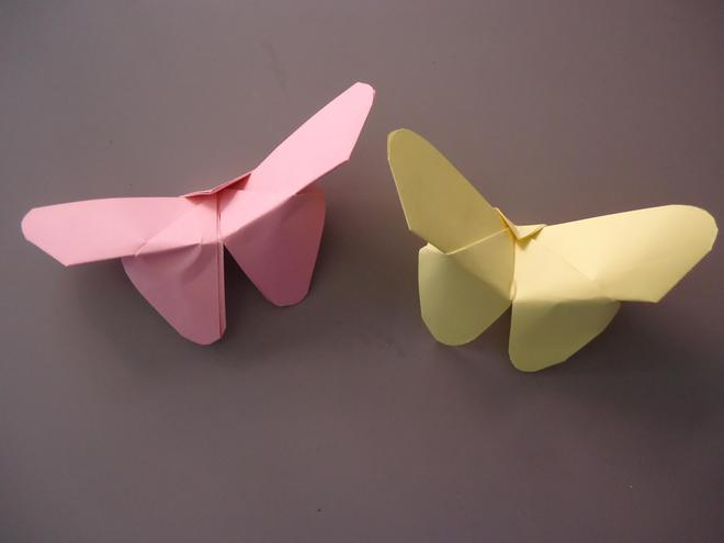 Butterflies made by Miss Wood and Miss Quade