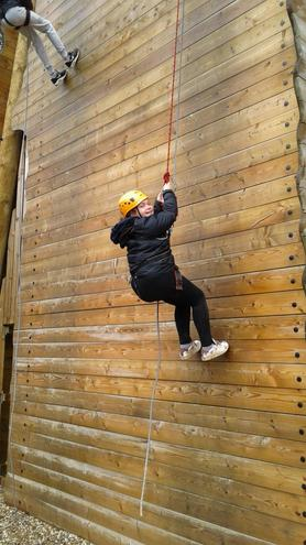 Abseiling & Giant Swing