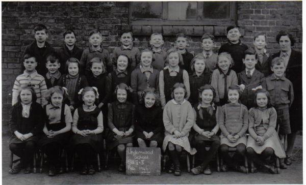 Underwood School 1946