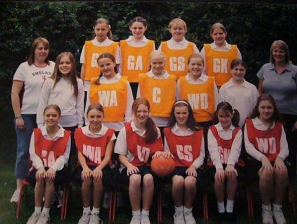 Underwood School Netball Team 2000s