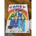 Help the NHS and stay at home. Great work Maisie.