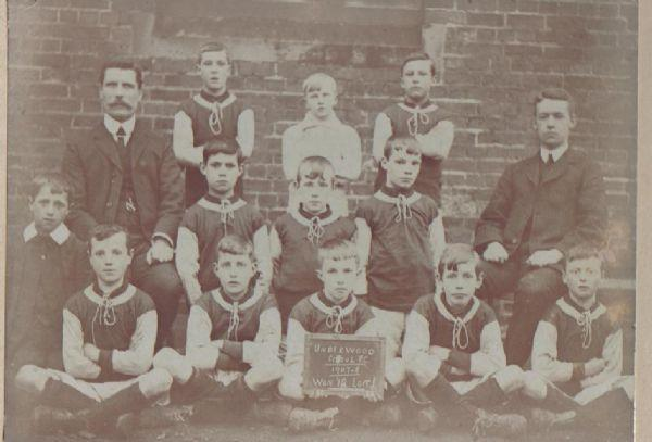 The Underwood Football Team 1907