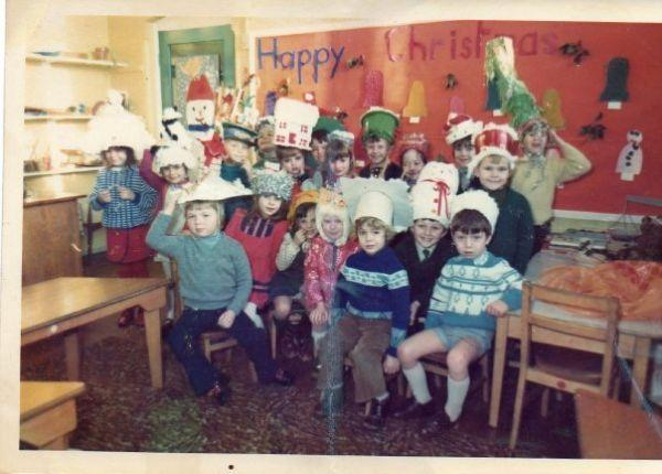 Underwood School Christmas 1970s