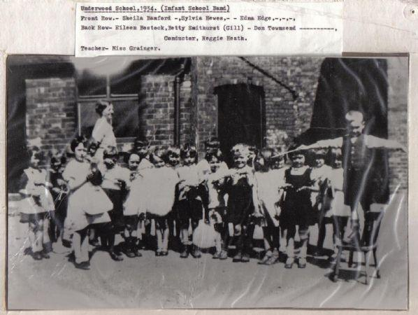 Underwood Infant School Band 1934