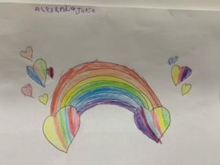 Also Alex's rainbow!