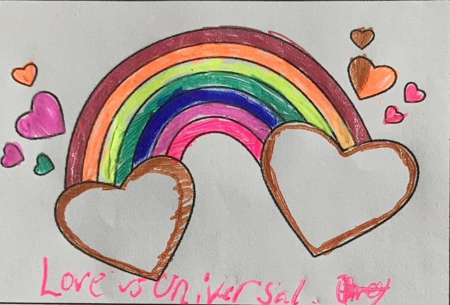 Olivia's rainbow