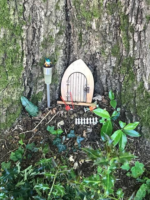 Cute fairy door