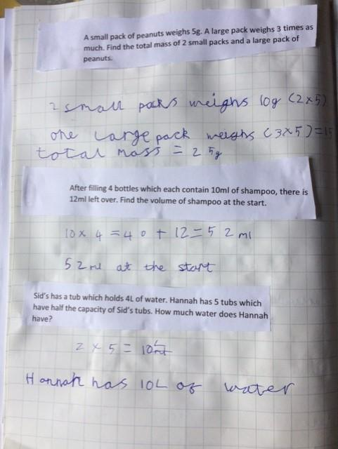 Sam's maths