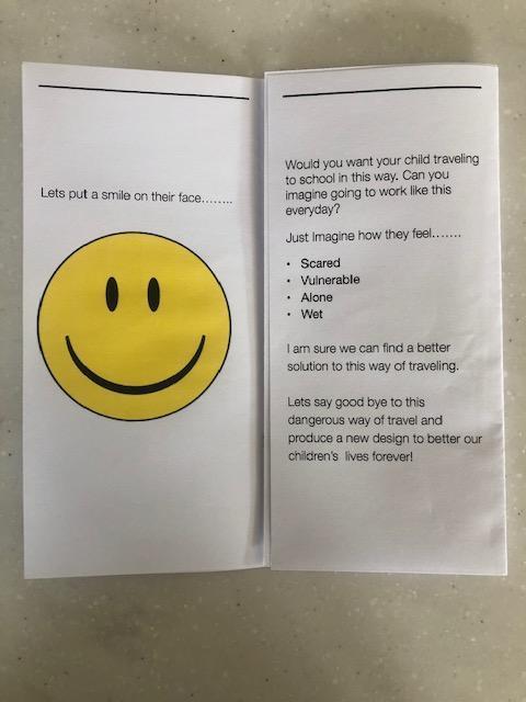 Louis's leaflet
