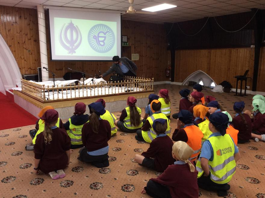 Visiting a Gurdwara in Southampton to learn about the Sikh religion.