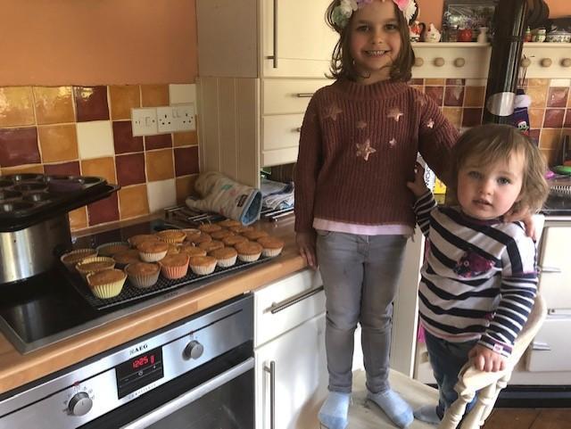 Super cake baking