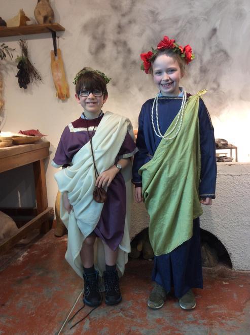 A visit to Fishbourne Roman Palace