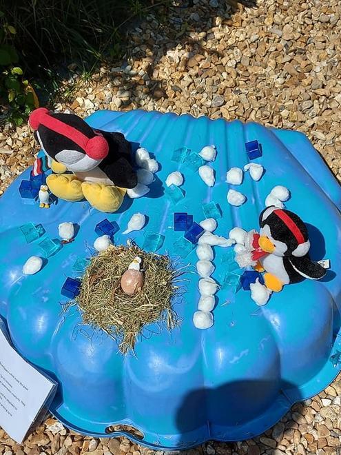Penguins in Bishops Waltham!