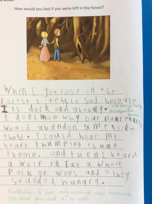 Hugo's amazing writing