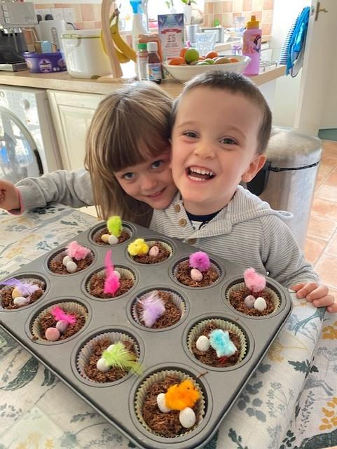 delicious Easter nests