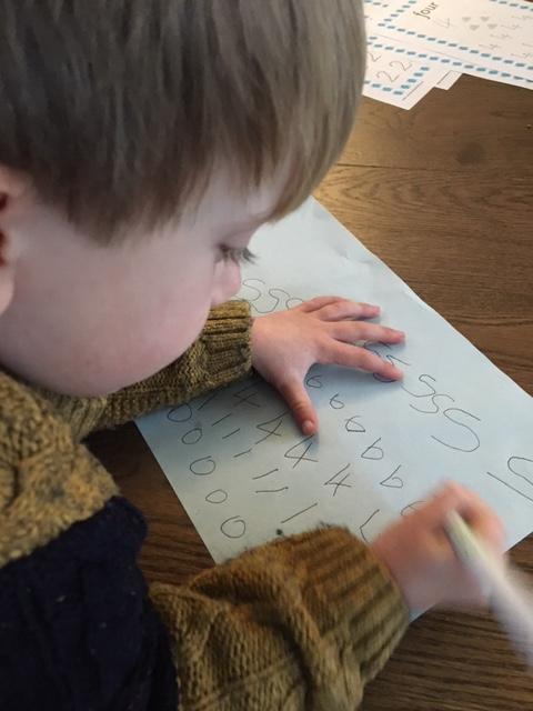 writing numbers