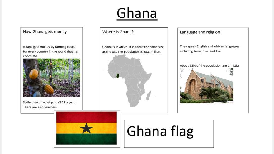 Elsie's Ghana poster