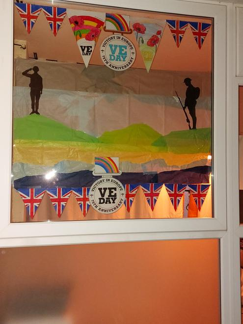 VE Day Window