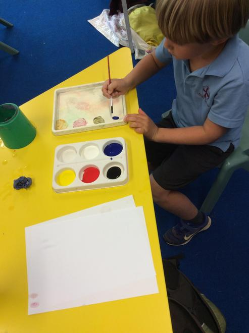 Lowry paint mixing