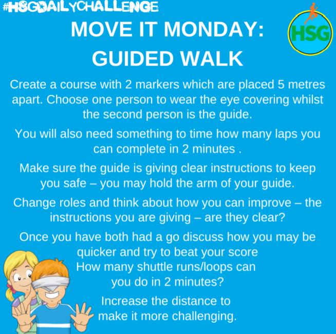 Move it Monday - Guided Walk