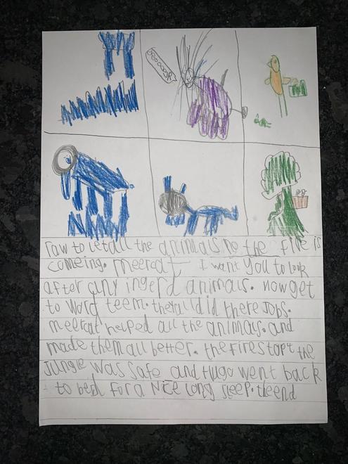 Hugo's Jungle Man story p3