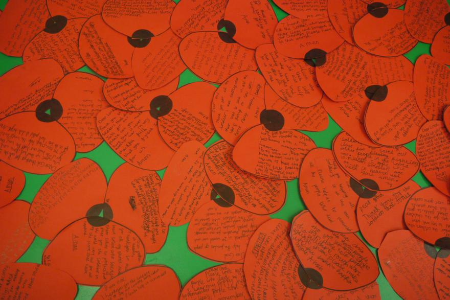 Prayers and reflections following learning about remembrance