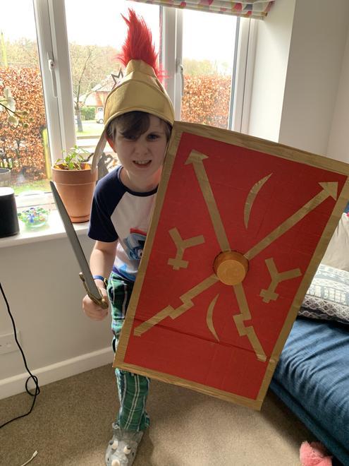 George - Roman shield (homework)