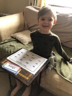 learning tricky words