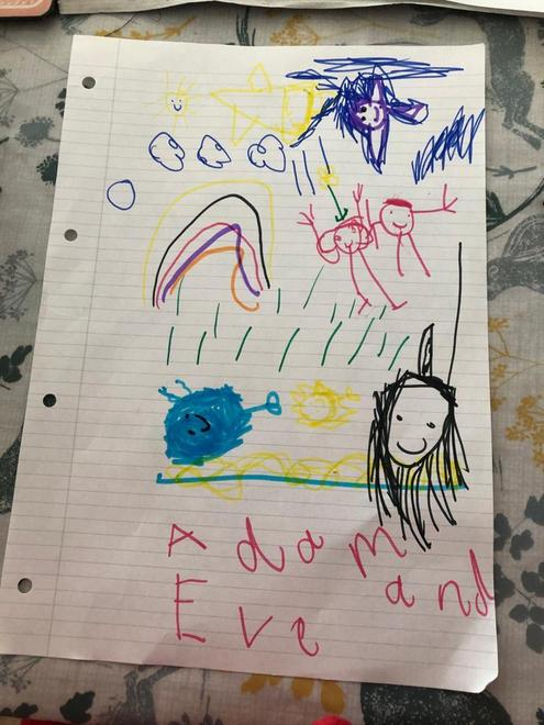 Esther - learning about Adam and Eve