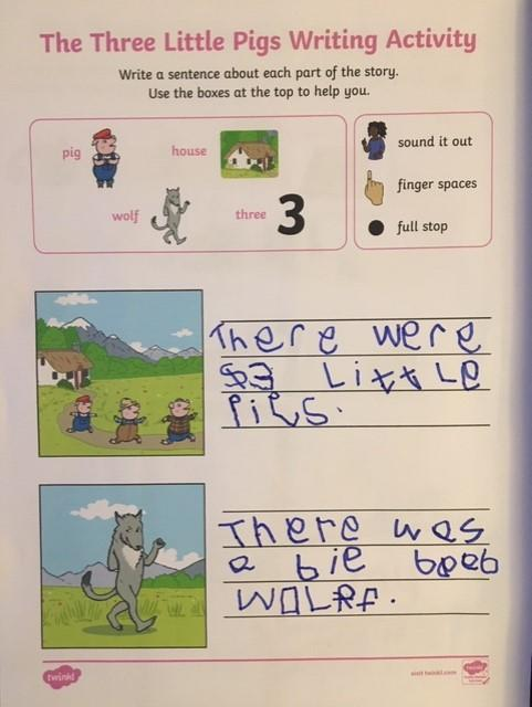 The 3 Little Pigs by Theo